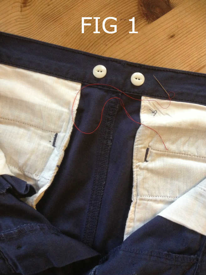 1c0411fd9 How To Sew Suspender Buttons On Your Pants | A Step-By-Step Guide