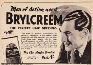 Brylcreem 1940s advert World War 2 Soldier