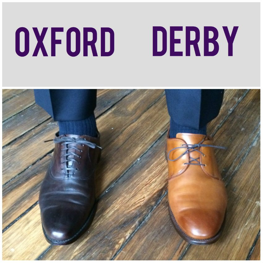 Oxford v Derby Shoes
