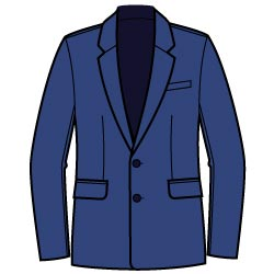 Suit Jacket Graphic