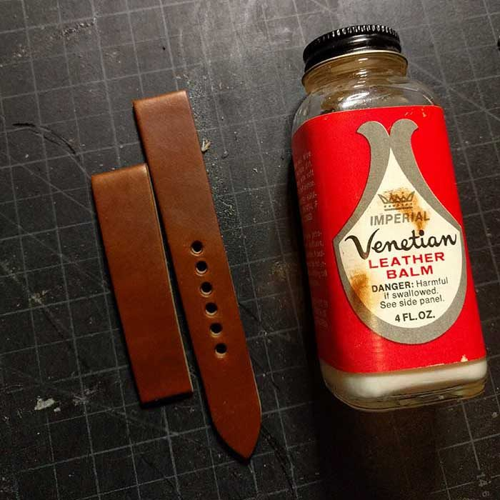 Strap Gets A Coating Of Imperial Leather Balm