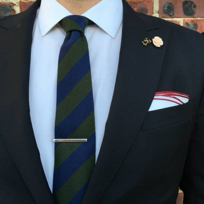 Correct Tie Clip Position And Tie Length