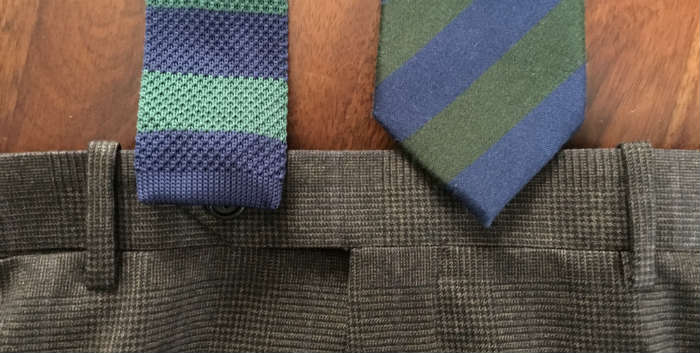 Correct Tie Length For Both Square And Diamond Tipped Ties