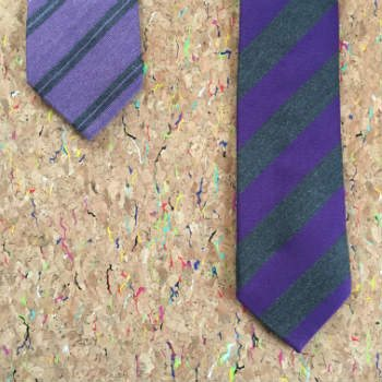 Standard And Extra Length Ties