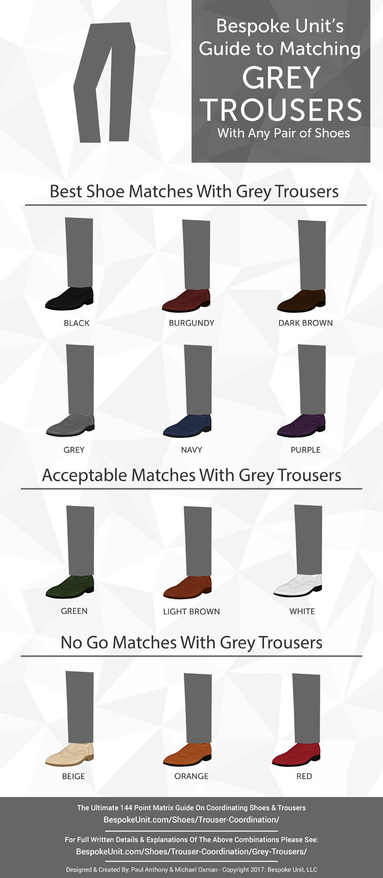 Grey Trouser Coordination Graphic