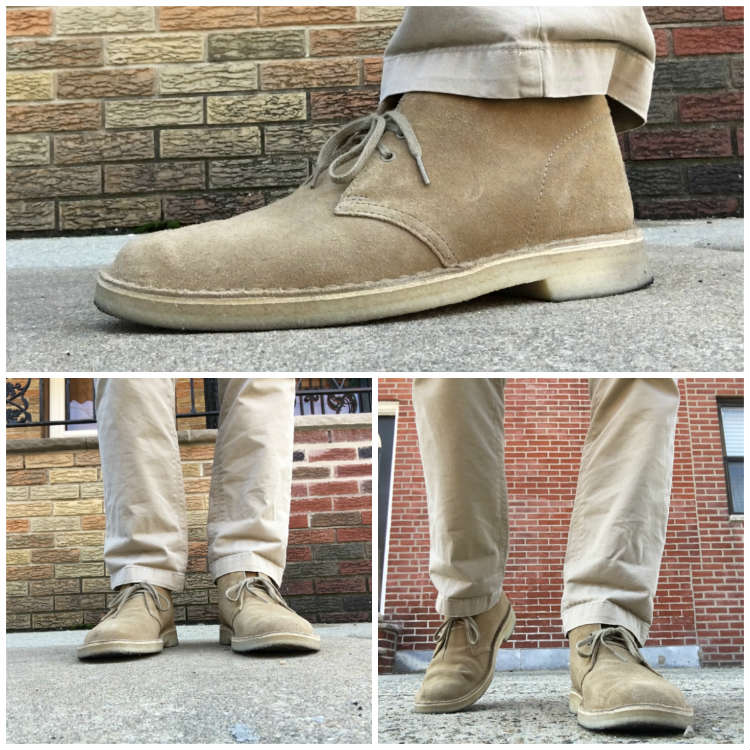 Desert Boots WIth Chinos