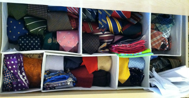 Different Patterned Ties