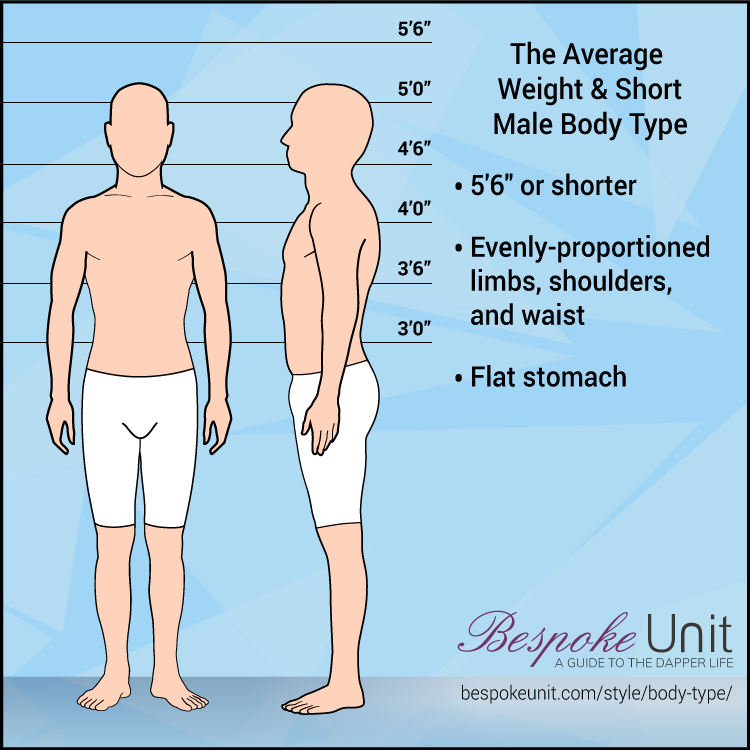 Average Weight Short Male Body Type