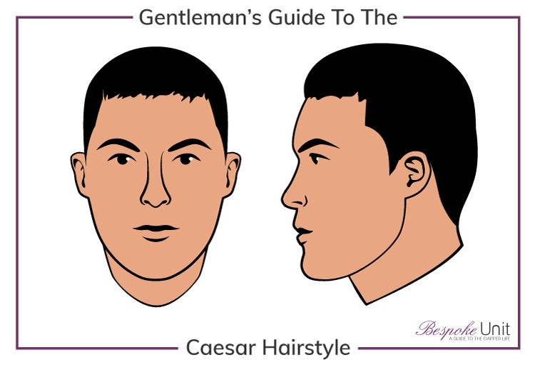 What Is A Man S Caesar Haircut Hairstyle Face Shape Guide For Men