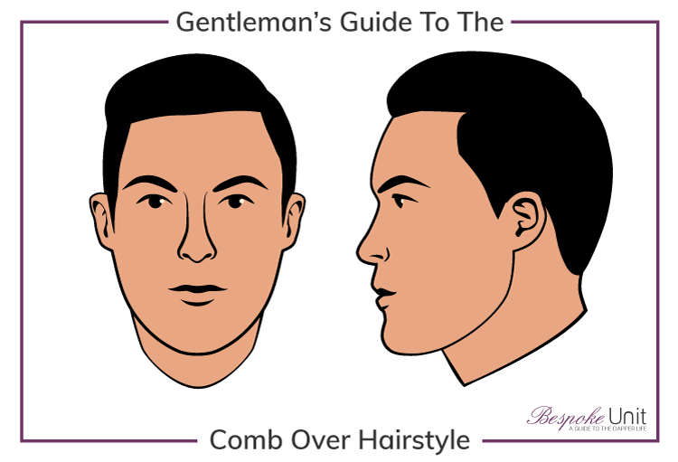 Bespoke Unit's Men's Guide to Comb Over Hairstyles