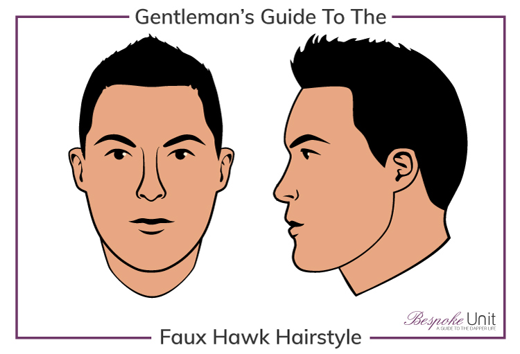 Bespoke Unit's Men's Guide to Faux Hawk Hairstyles