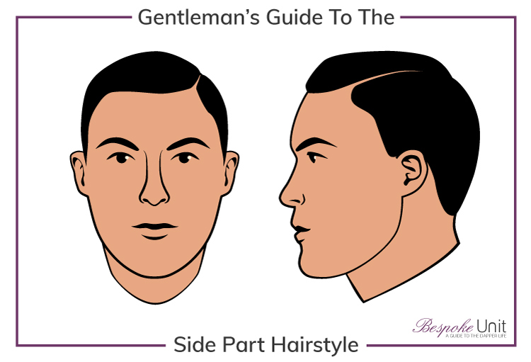 1 Men S Side Part Haircut Guide How To Part Hair For Your Face Shape