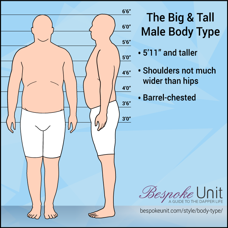 Big And Tall Male Body Type
