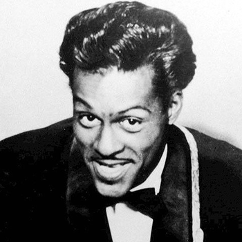 Chuck Berry with Conk Hair