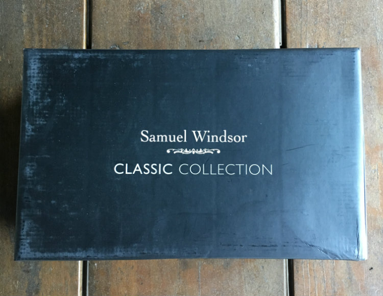 Samuel Windsor Black Shoe Box