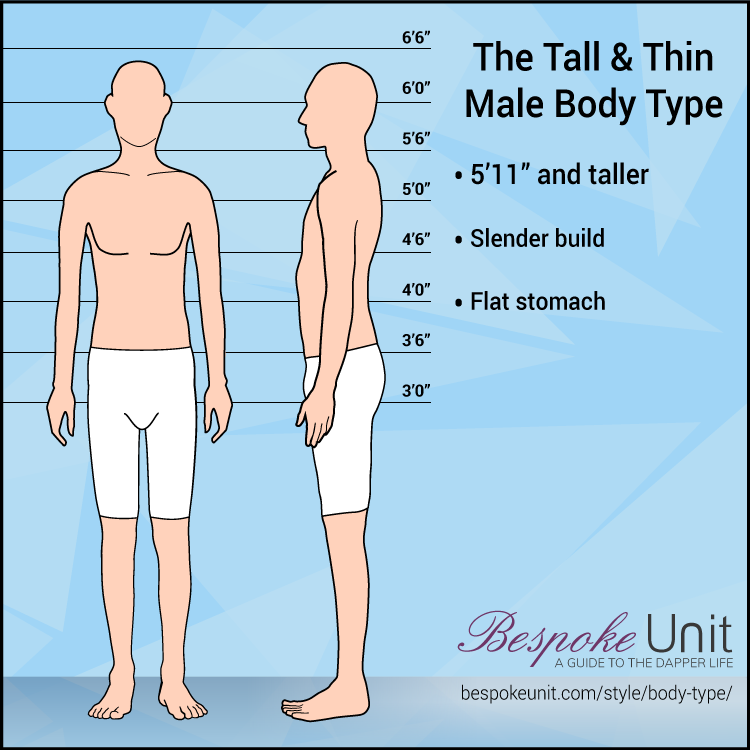 Tall Thin Male Body Type