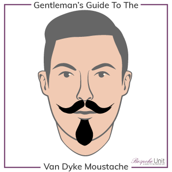 What Is A Van Dyke Beard Moustache