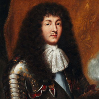 Louis XIV with Long Hair