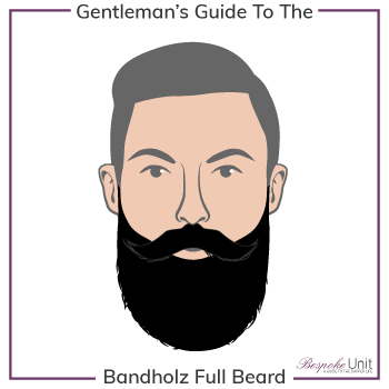 Bespoke Unit Bandholz Full Beard Graphic