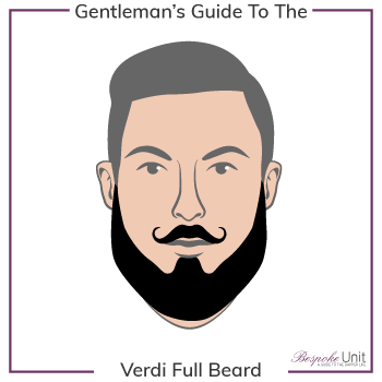 Bespoke Unit Verdi Full Beard Graphic