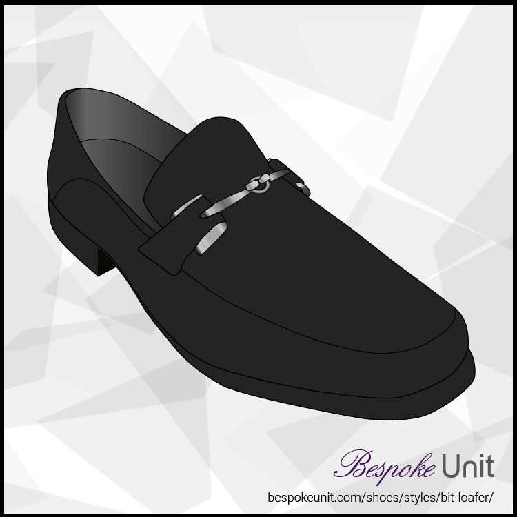 Black Bit Loafer