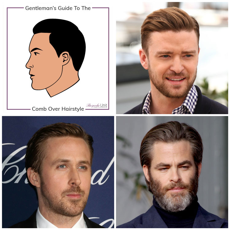 Mens Guide For Comb Over Haircut Styling Face Shapes More