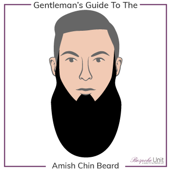 Graphic of Amish Chin Family Beard Type