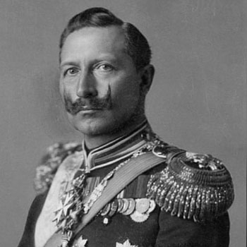 Imperial handlebar moustache kaiser wilhelm ii of germany