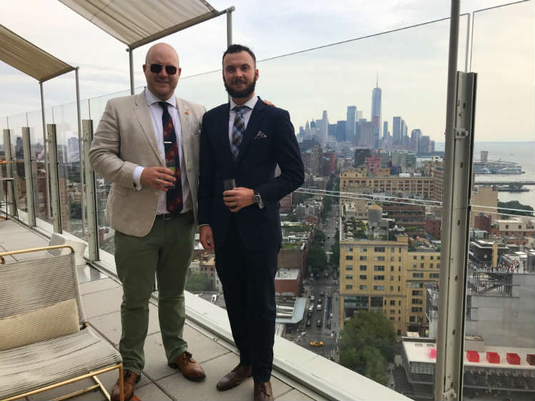 Rooftop Bar At The Standard High Line