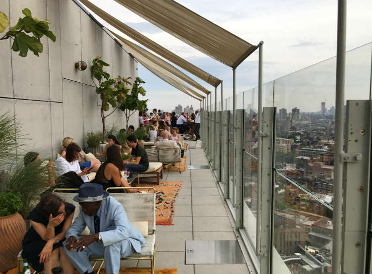 Sky Bar At The Standard High Line In New York