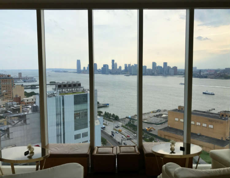 The Top of the Standard Restaurant View