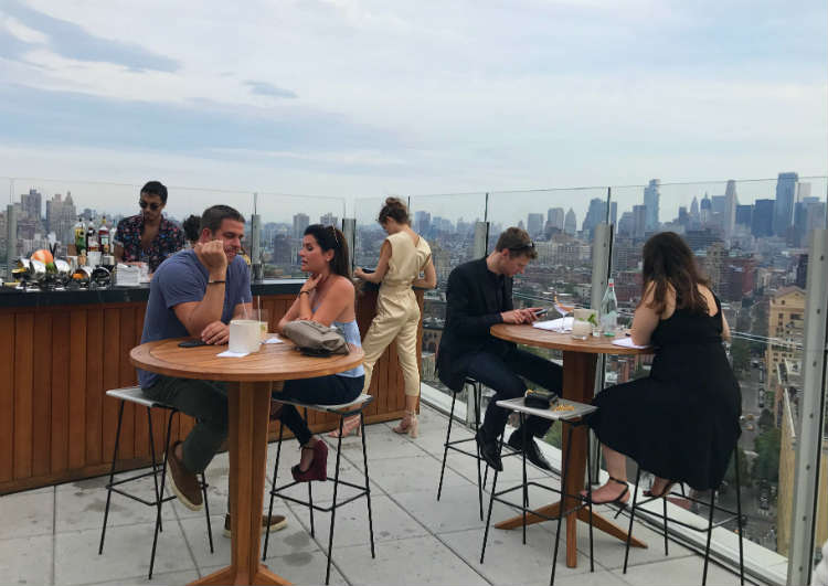 The Top of the Standard Rooftop Bar