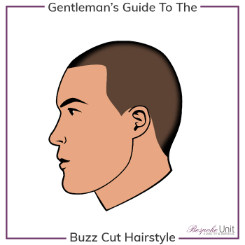 What Is A Buzz Cut Hairstyle Graphic