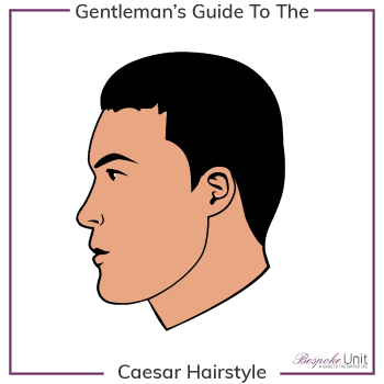 What Is A Caesar Hairstyle Graphic