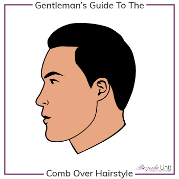 What Is A Comb Over Hairstyle Graphic
