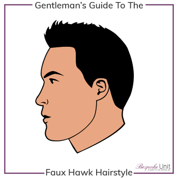 What Is A Faux Hawk Hairstyle Graphic