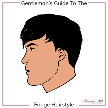 Men S Fringe Bangs Haircuts Face Shapes How To Style Maintain