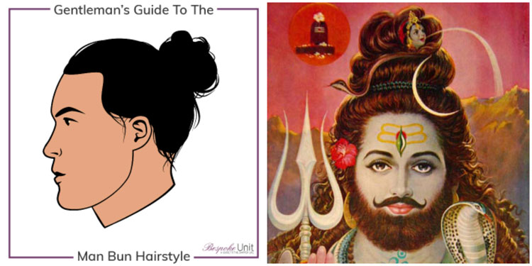 What Is A Man Bun Shiva Verdi Beard