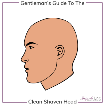 What Is A Men's Shaved Head Style