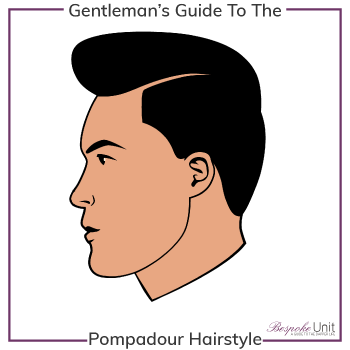What Is A Pompadour Hairstyle Graphic
