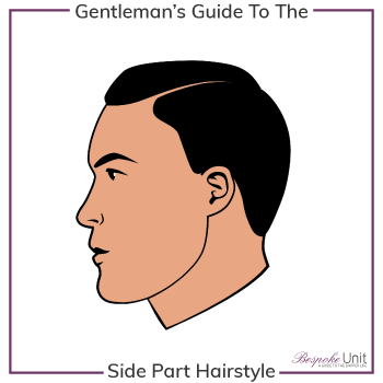 What Is A Side Part Hairstyle Graphic