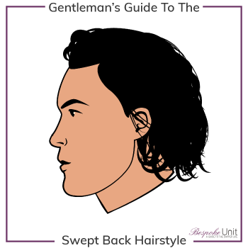 What Is A Swept Back Long Hairstyle Graphic