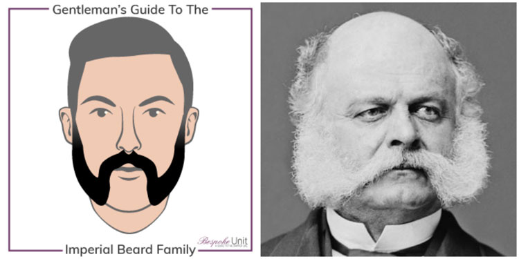 What Is An Imperial Beard or Friendly Mutton Chops Ambrose Burnside