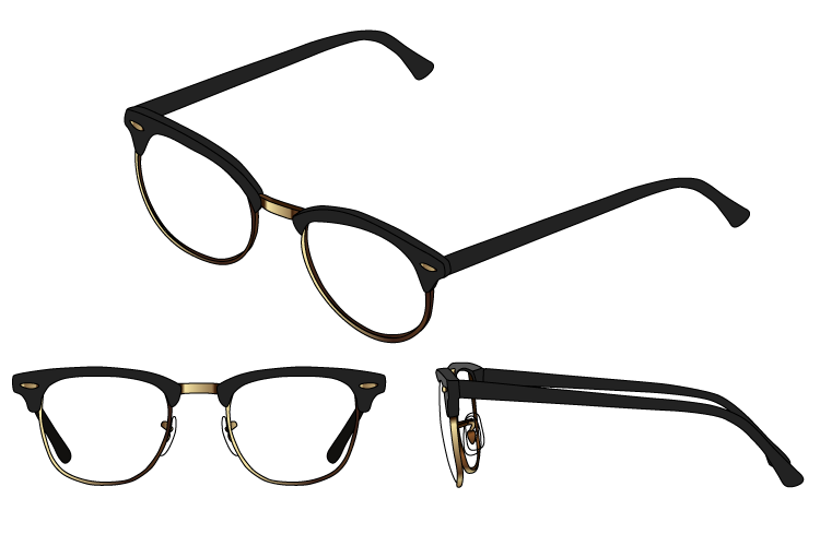 Best Browline (Clubmaster) Glasses & The Ideal Face Shapes For Them