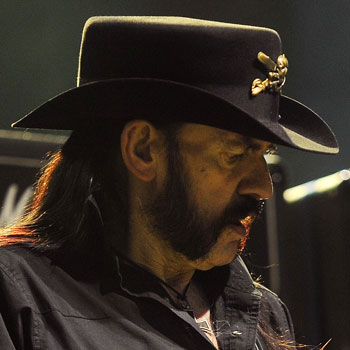 Lemmy Kilmister Motorhead Friendly Mutton Chops Imperial Beard