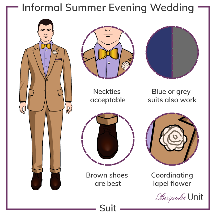 Summer-Informal-Evening-Wedding-Attire
