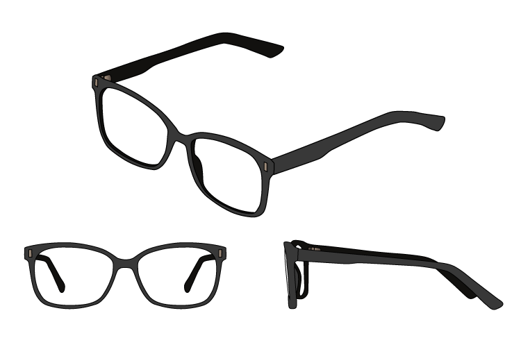 Best square frame glasses 1 buying guide ideal face shapes for Best place to get picture frames