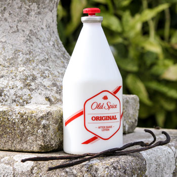 old spice original bottle vanilla