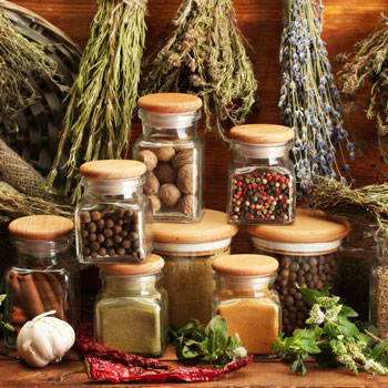 Aromatic Herbs & Spices For Champagne Notes