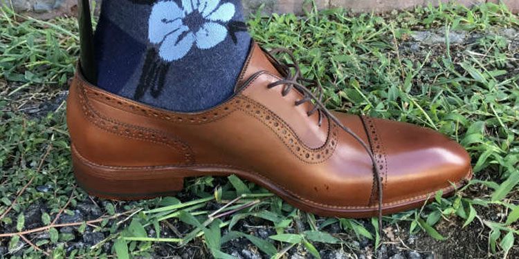 Beckett Simonon Durant Quarter Brogue Shoe
